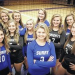 Surry volleyball splits four, now 13-3