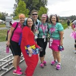 Fighting breast cancer three days at a time