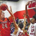 Basketball: Starmount boys edge out East Wilkes; Cardinals girls pull away from Rams