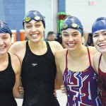 Swimmers close out season at states