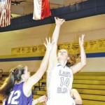 Lady Elks win first round match-up against Chatham Charter