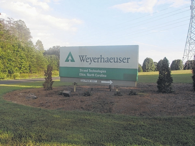 Fire breaks out at Weyerhaeuser | The Elkin Tribune