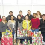 SCC's Rotaract Club collects canned goods for Salvation Army