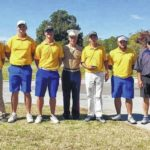 Surry golf places third