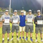 Elkin baseball players awarded