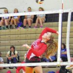 Elkin, East Wilkes compete in volleyball scrimmage