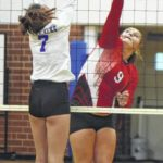 Lady Elks sweep Cardinals, 3-0