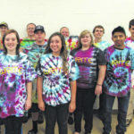 Tie-dye project teaches Surry students writing skills