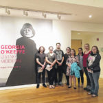Surry CC students visit Reynolda House O'Keeffe exhibit