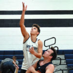 Starmount Rams scrimmage Mount Airy