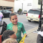 VIDEO: Trick-or-Treat in downtown Elkin draws unexpectedly large crowd