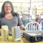 New Jonesville librarian brings love of history as well as books