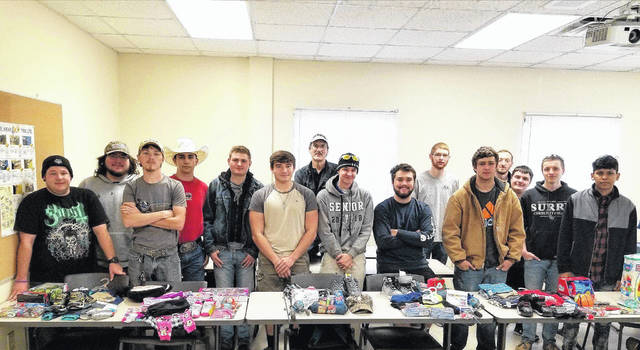 surry community colleges machining club sponsored five children on the colleges angel tree to provide gifts for those less fortunate during the holiday