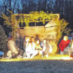 Outdoor Christmas drama Friday night