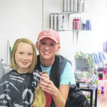 Roaring River girl donates hair to Locks of Love