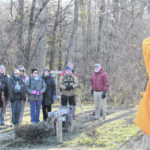 VIDEO: First Day Hikes greeted by frozen friends