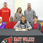 Reid signs with Guilford College