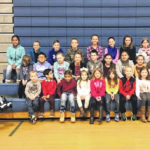 Elkin January Students of the Month named