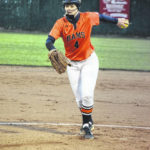 Starmount softball splits games