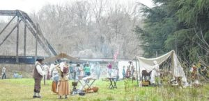 Update: Reenactment activities this weekend canceled due to forecasted inclement weather