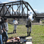 Overmountain Victory Trail significance shared with Elkin High School students