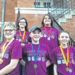 Yadkin Valley Community School students win at Science Olympiad