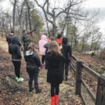SCC Botany Class visits Pilot Mountain State Park