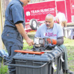 Team Rubicon trains in Yadkin Valley