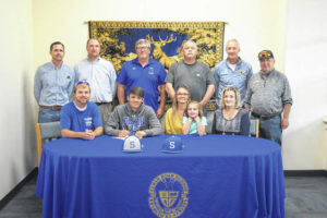 Wood signs with Surry