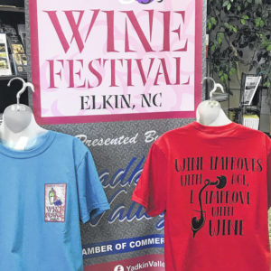 Yadkin Valley Wine weekend set to pour