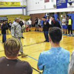 Elkin High School JROTC shares its skills with middle-schoolers