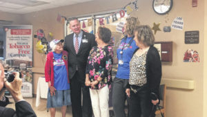 HCMH highlights century of hugs, health