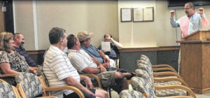 Town of Jonesville recognizes caring, education during monthly meeting
