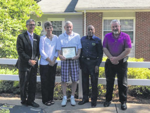 Pardue awarded for service