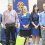 New officers, committee heads sworn in at Yadkin Valley Rotary Club meeting